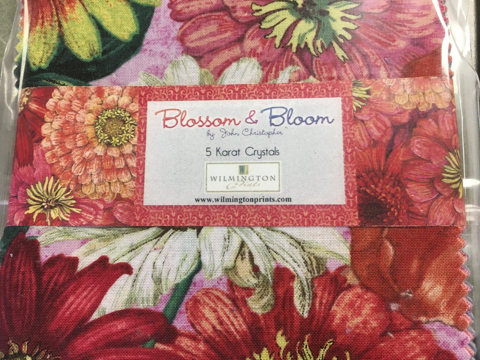 Blossom & Bloom 5 Karat Crystals (42) 5 inch Squares