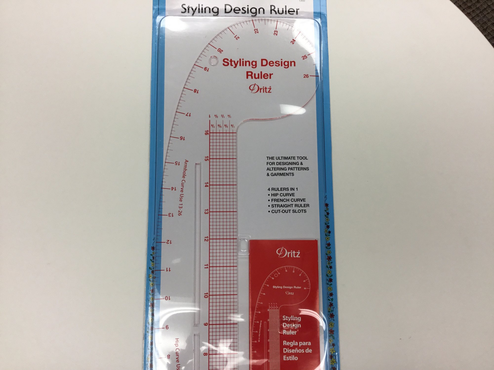 Styling Design Ruler C832