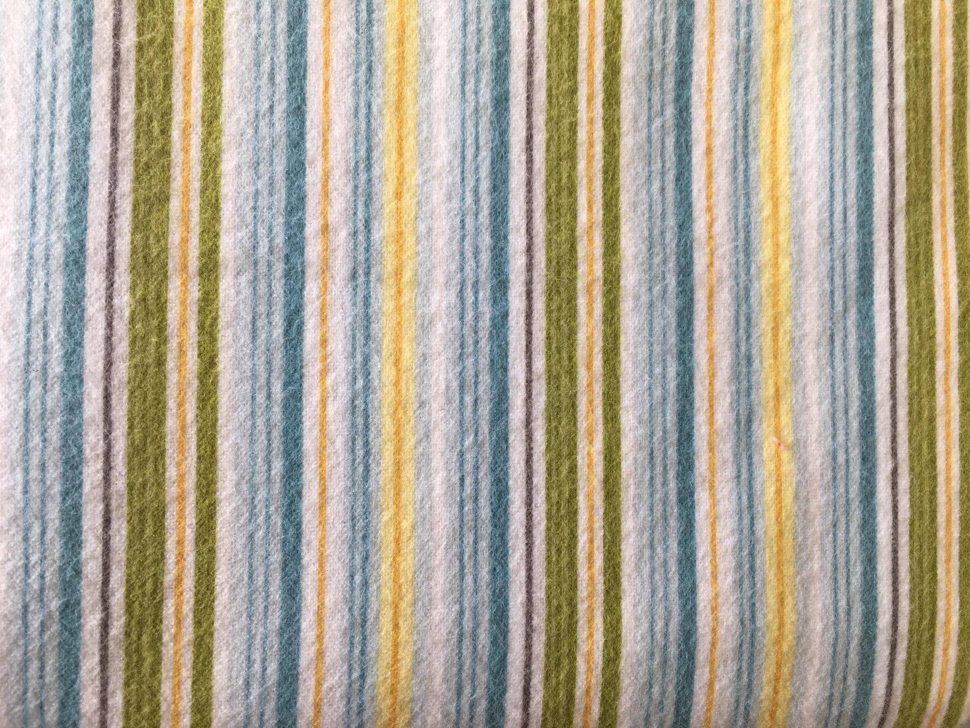 Fine & Dandy Blue Stripe Flannel