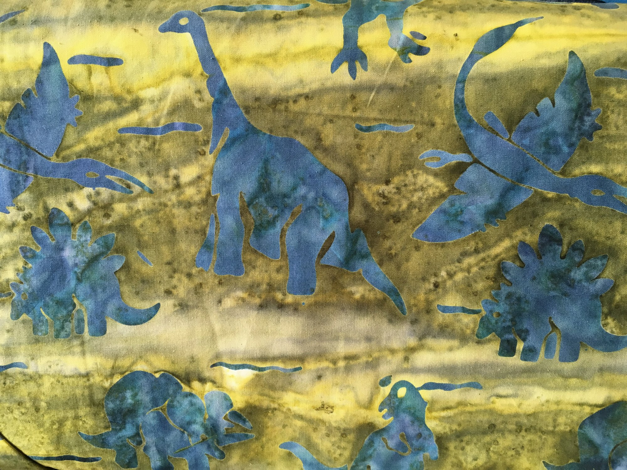 Elements II Collection Green/Blue Dinosaurs
