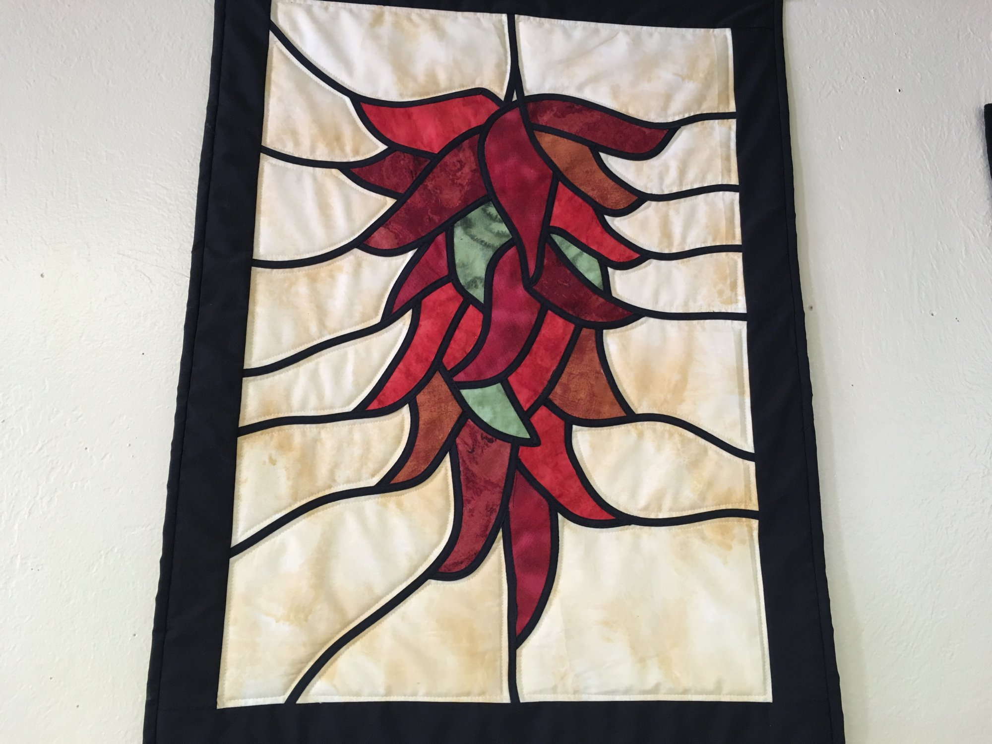 CHILI PEPPERS STAINED GLASS PATTERN by J. Wilson Designs