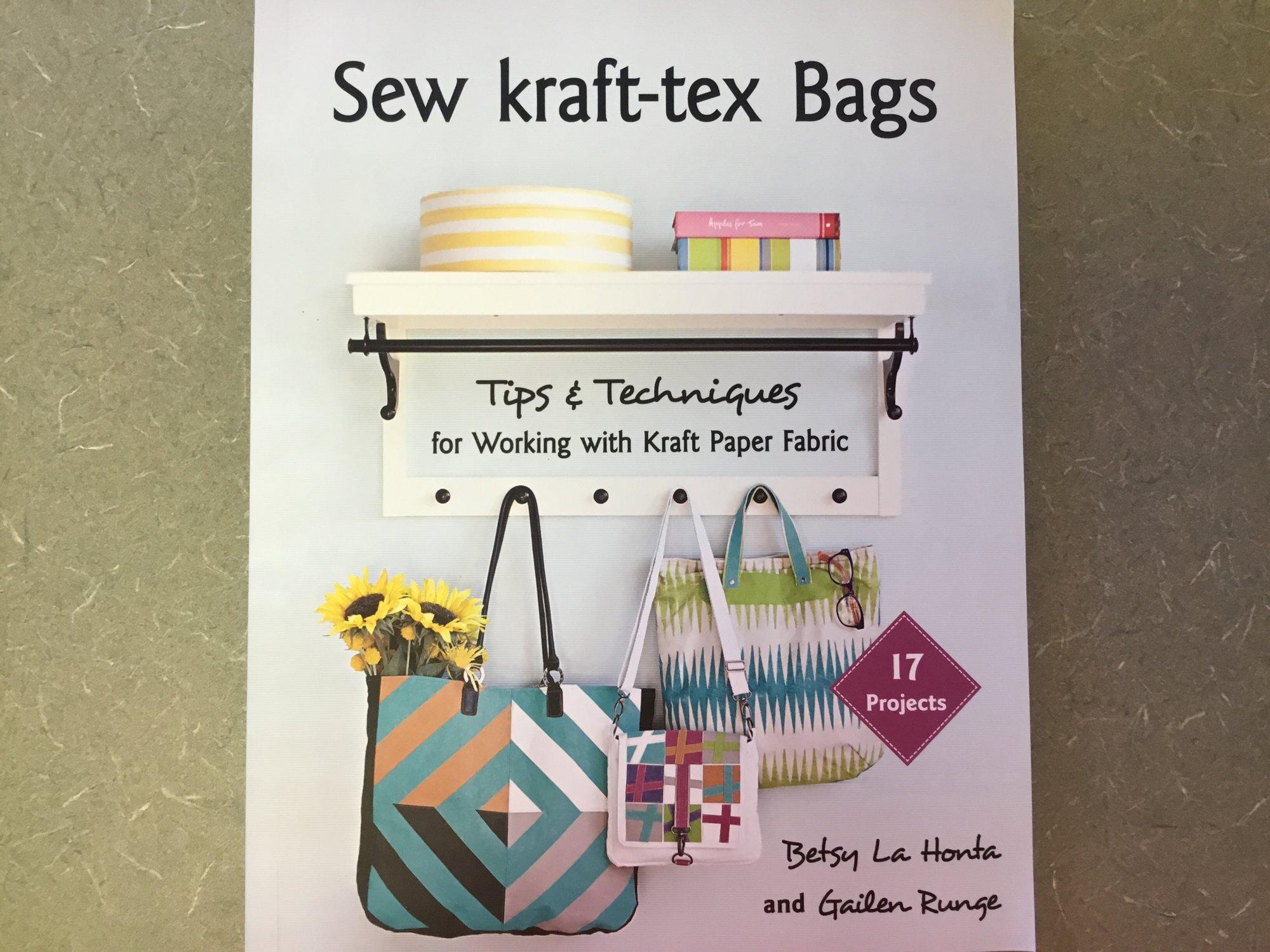 SEW KRAFT-TEX BAGS BOOK by Betsy La Honda and Galilean Runge 11320
