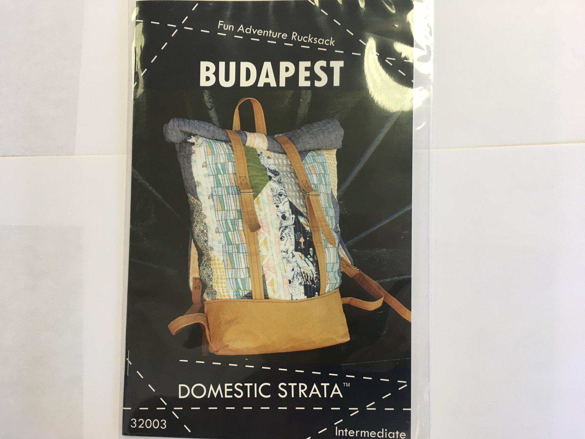 BUDAPEST ADVENTURE RUCKSACK by Domestic Strata, LLC  32003