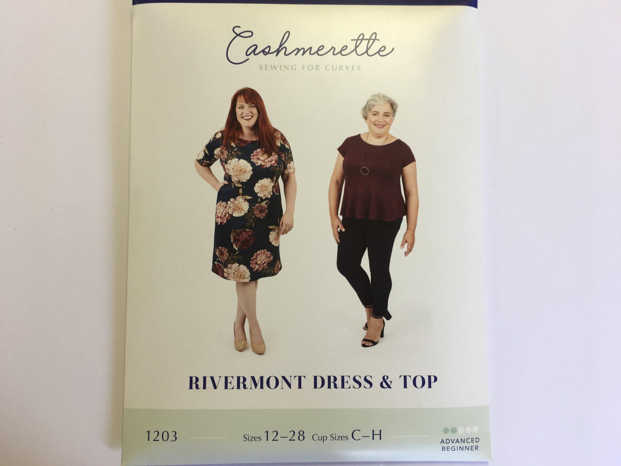 CASHMERETTE RIVERMONT DRESS & TOP PATTERN (size 12 - 28) 1203