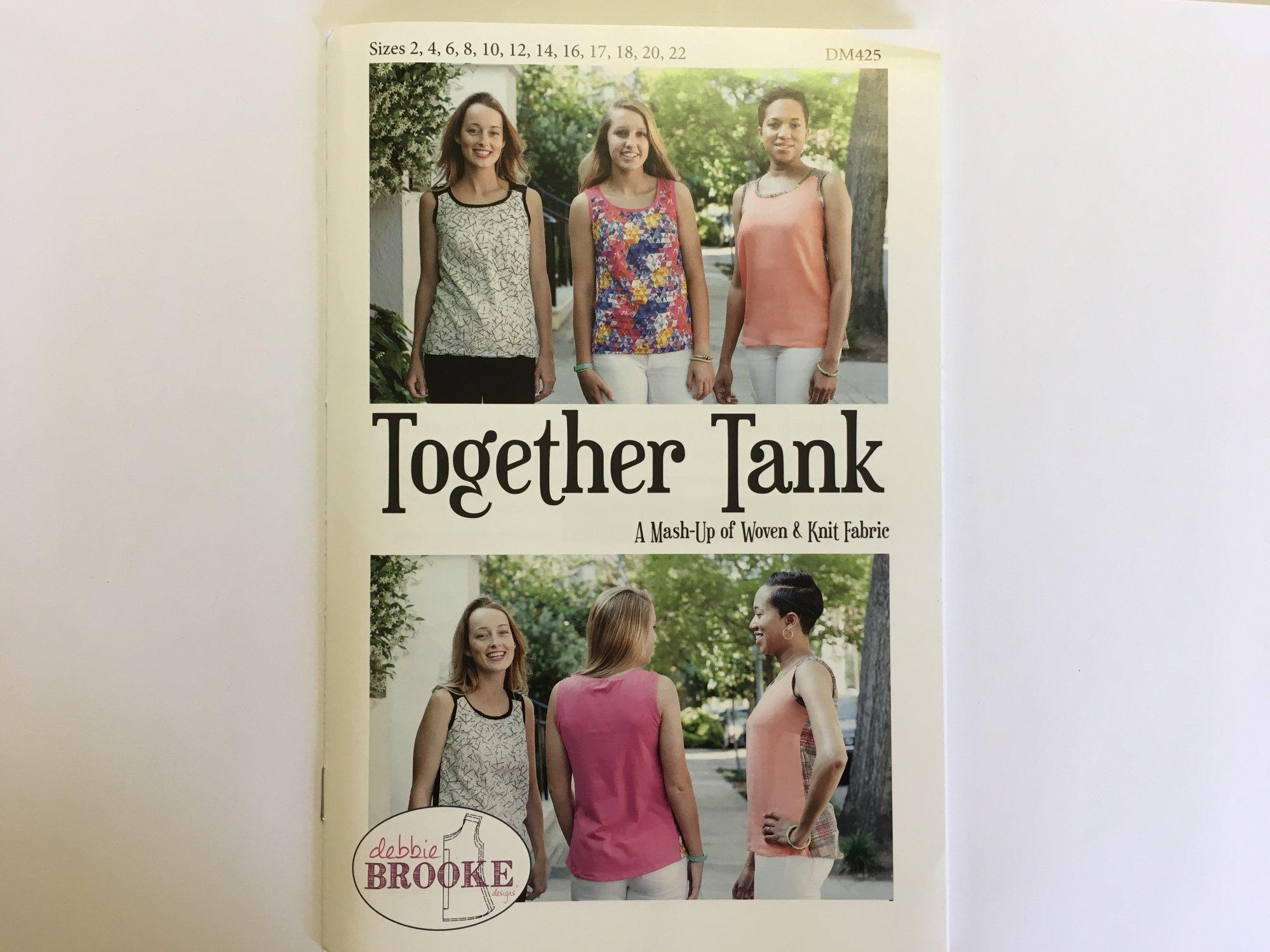TOGETHER TANK by Debbie Brooke  DM425