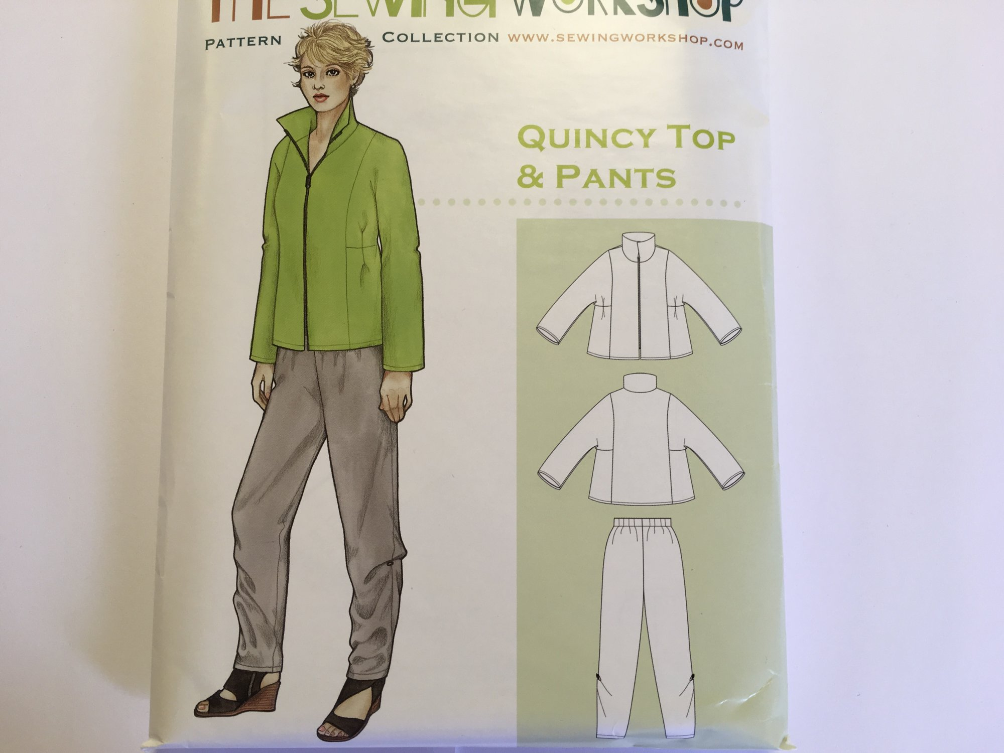 QUINCY TOP & PANTS by The Sewing Workshop