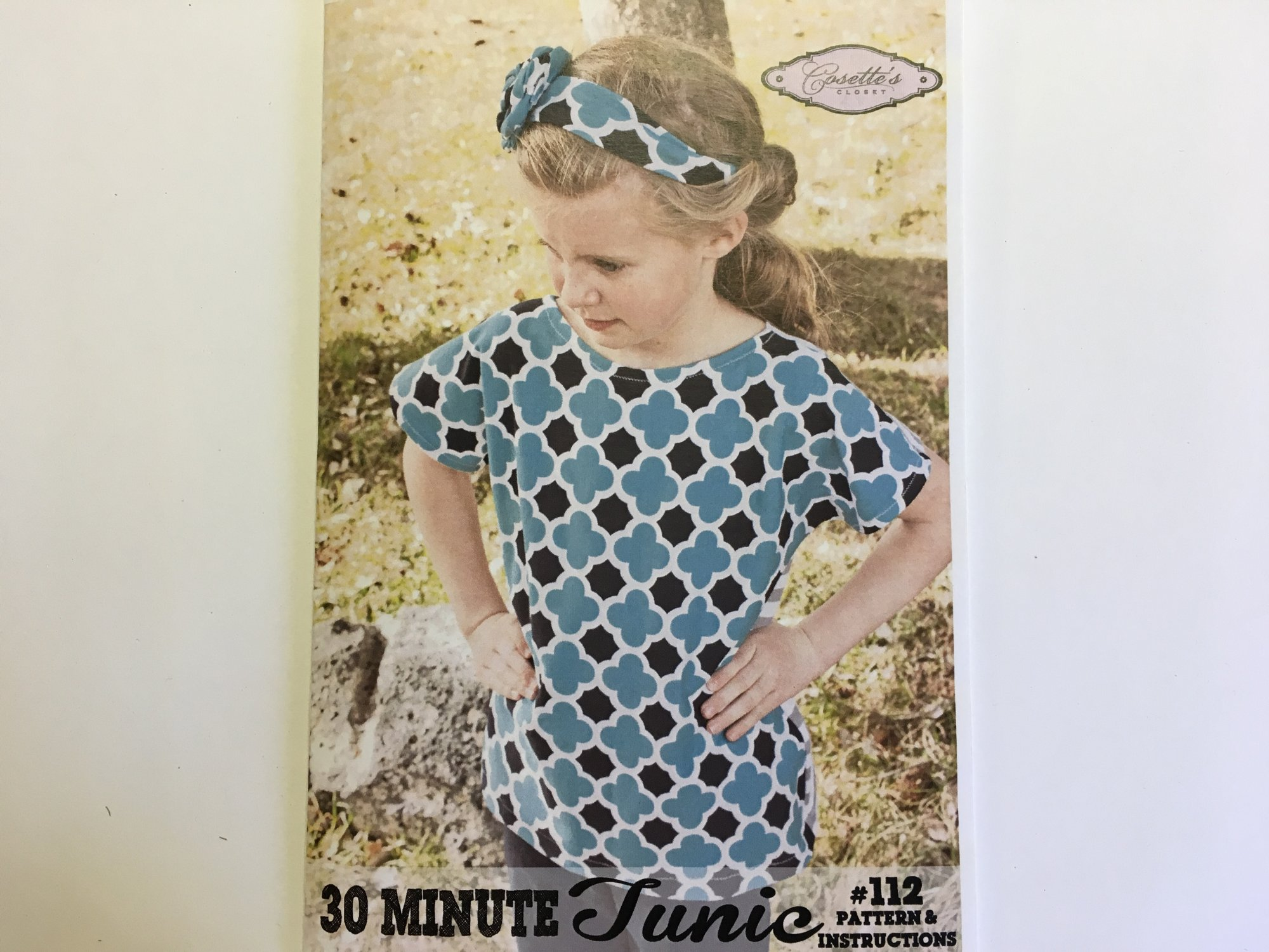 30 MINUTE TUNIC by Cosettes  #112