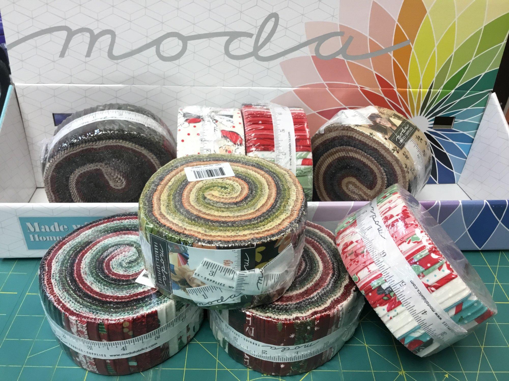 MODA assorted holiday jelly rolls