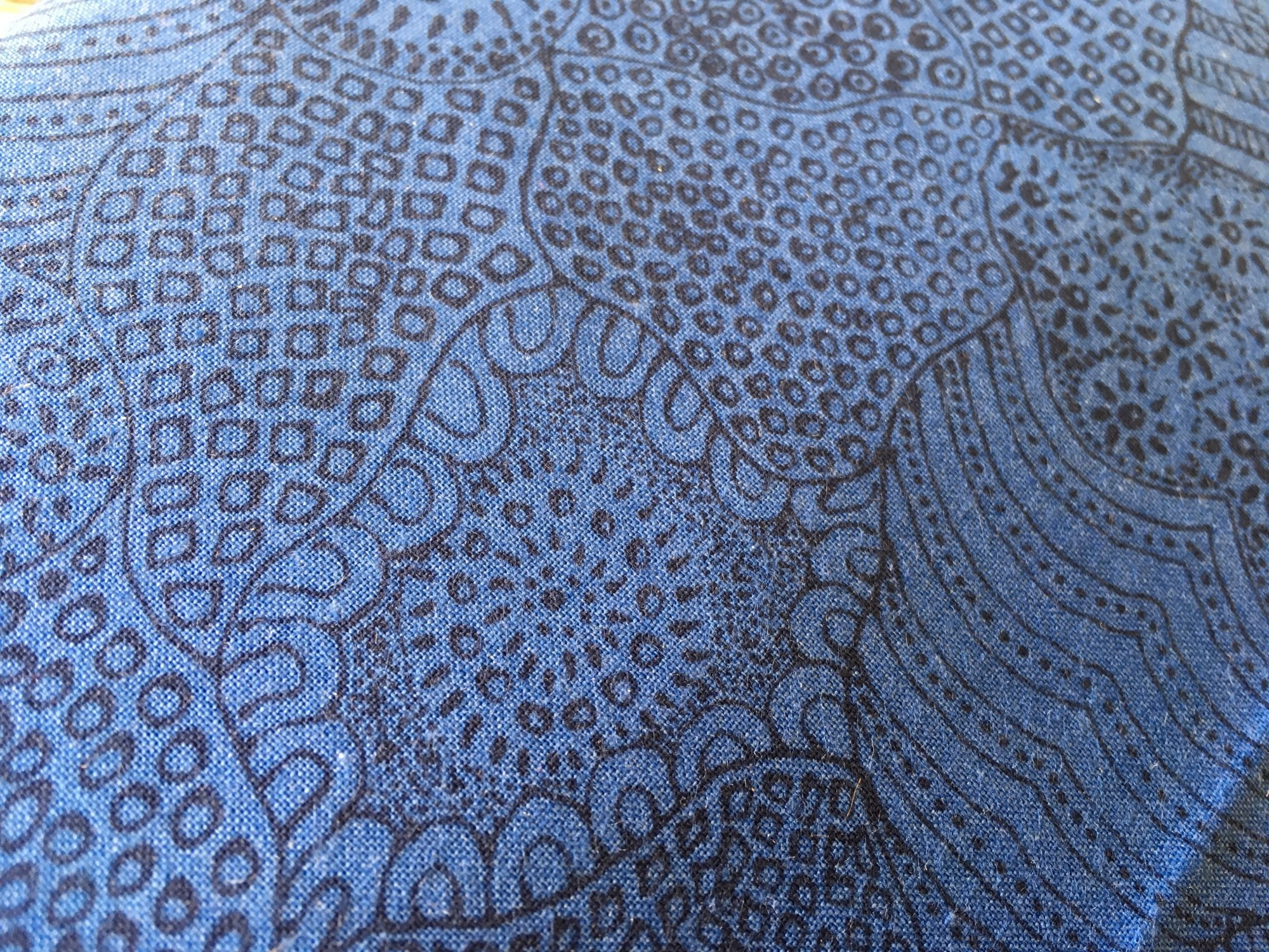 WATERHOLE BLUE WAHBL by M&S Textiles