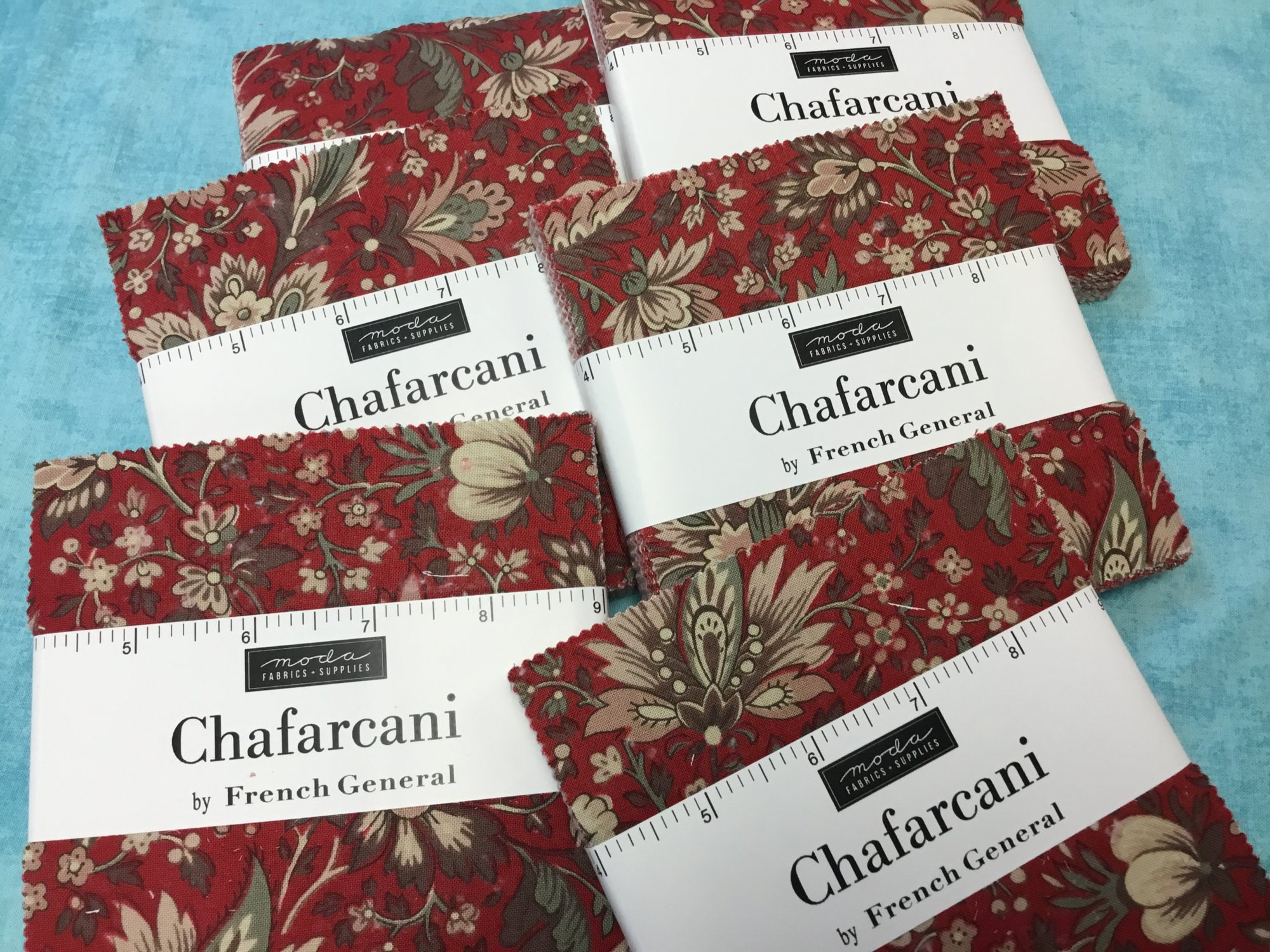 CHAFARCANI 5 inch Squares  French General by Moda