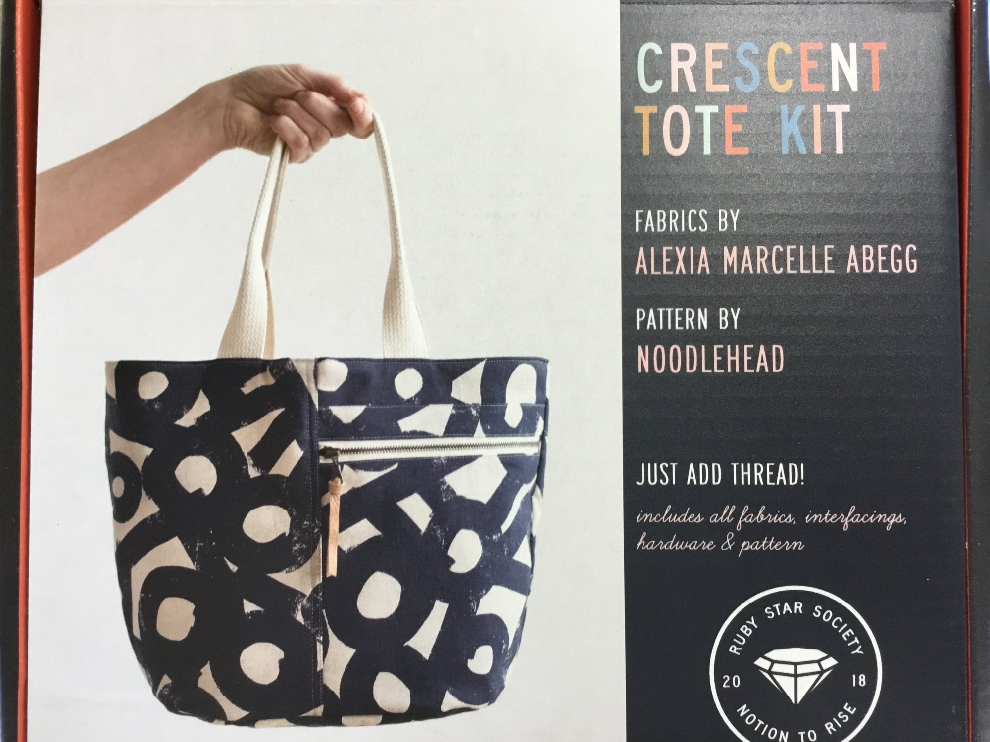 CRESCENT TOTE KIT  by RUBY STAR SOCIETY