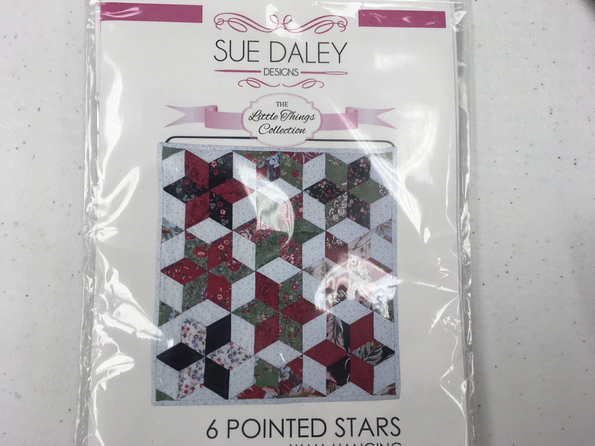 6 POINTED STAR EPP PATTERN Sue Daley