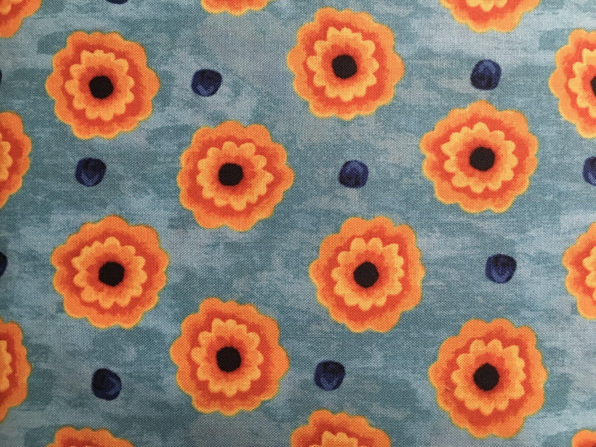 FLORIANNA BLUE FLORAL P&B Textiles