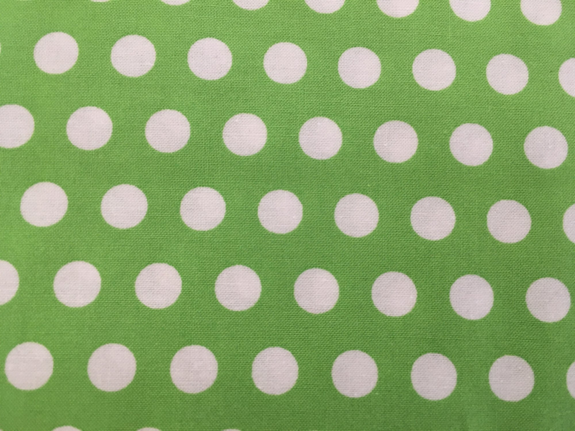 TRIBECA WHITE DOTS ON GREEN C3431 Timeless Treasures
