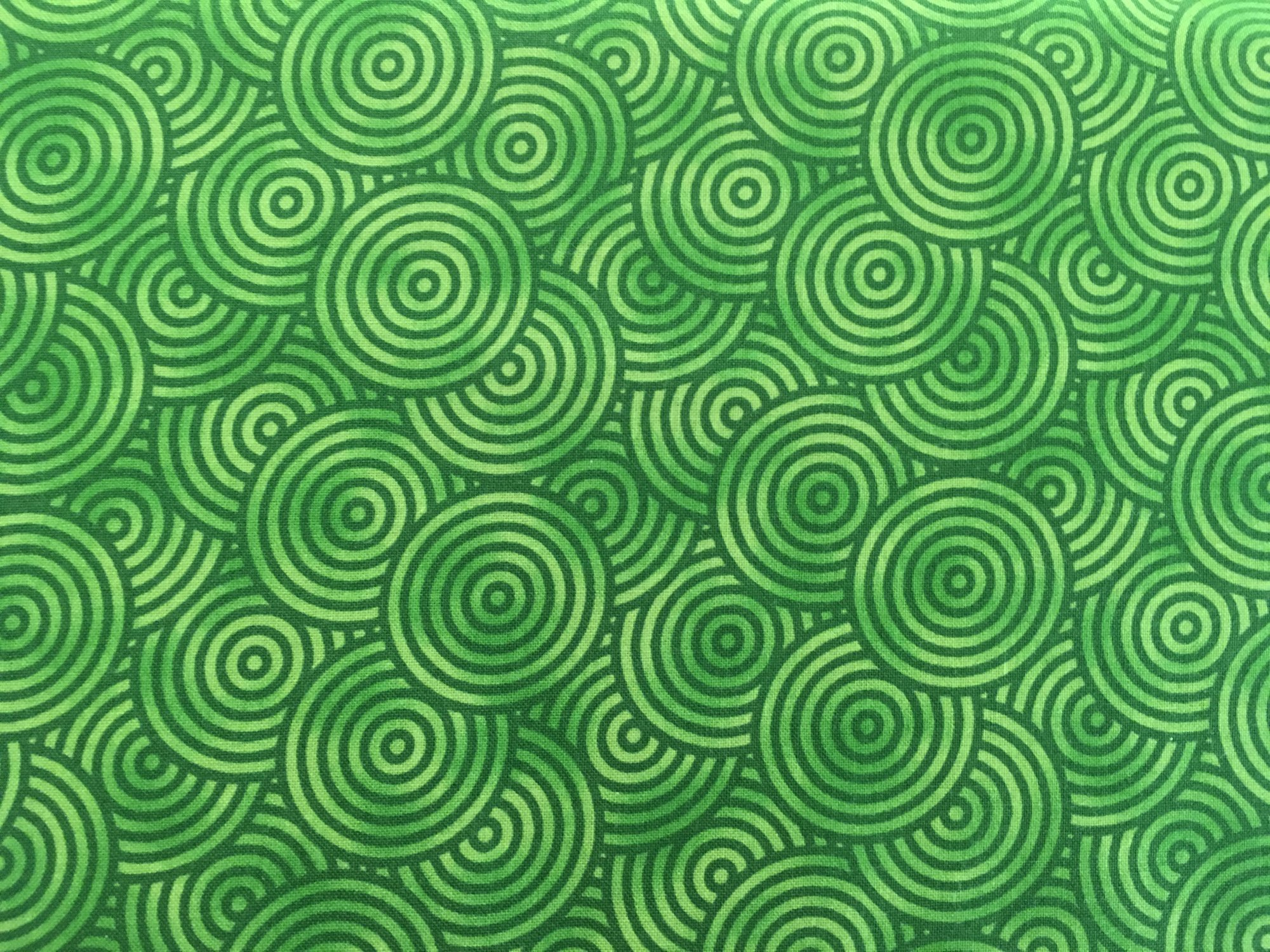 GEO FLOW GREEN SWIRLS BTR704366 Blank Quilting