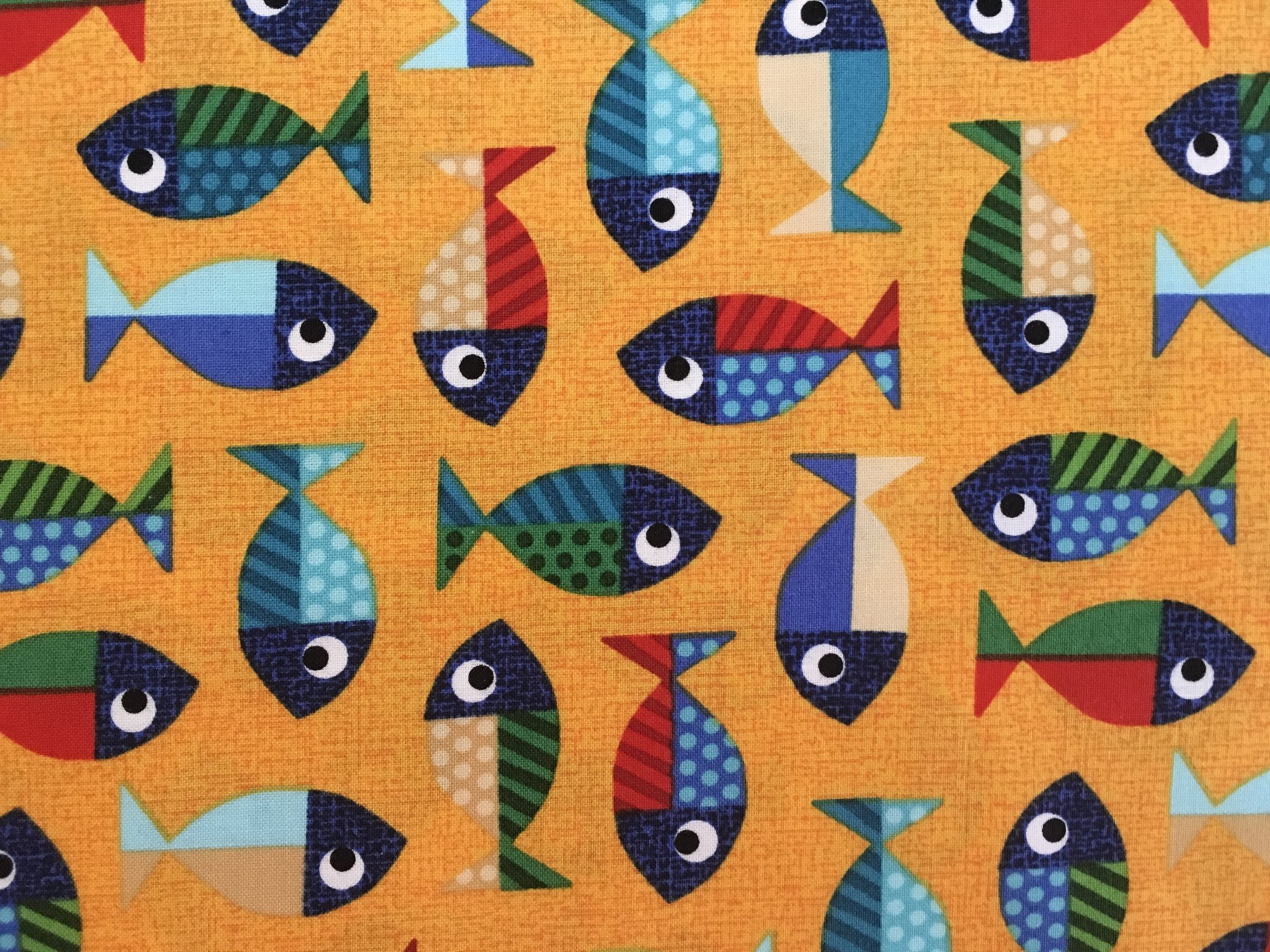 PAWSOME CATS GOLDFISH BTR7221044 Blank Quilting