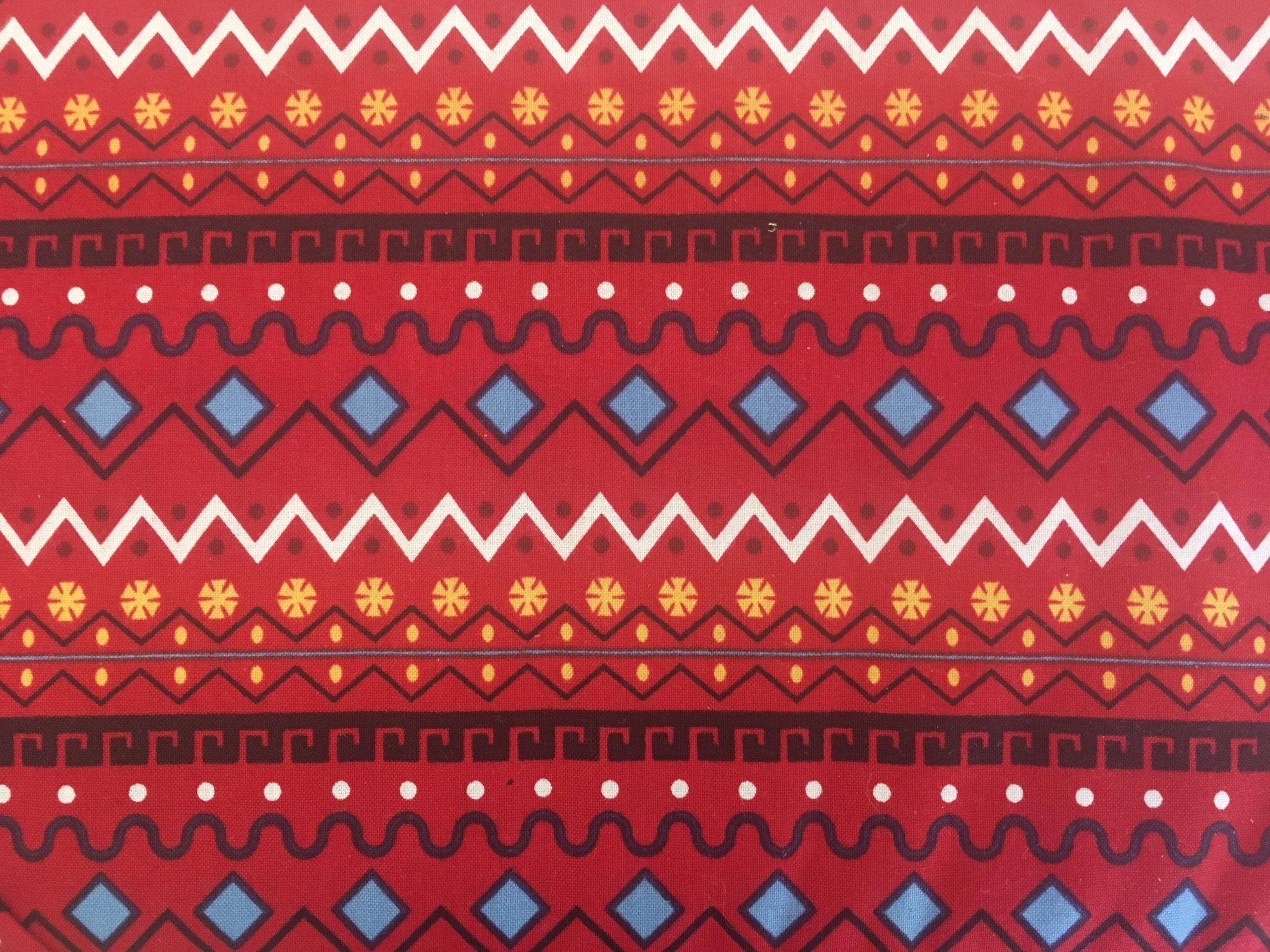 ITS A KIDS WORLD STRIPE RED 141003 Robert Kaufman