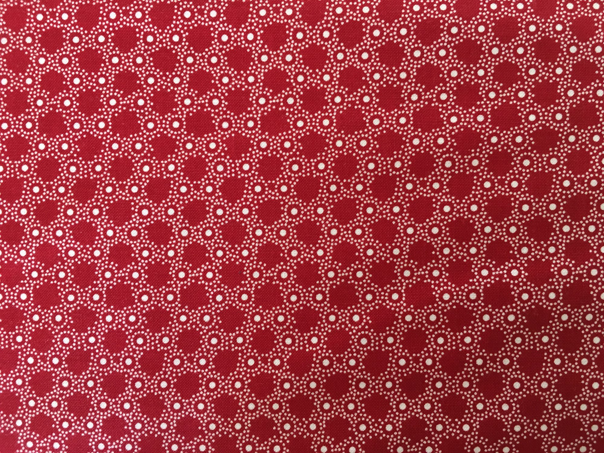 SUMMER COTTAGE BUBBLE DOT RED/WHITE 4507251822 Red Rooster