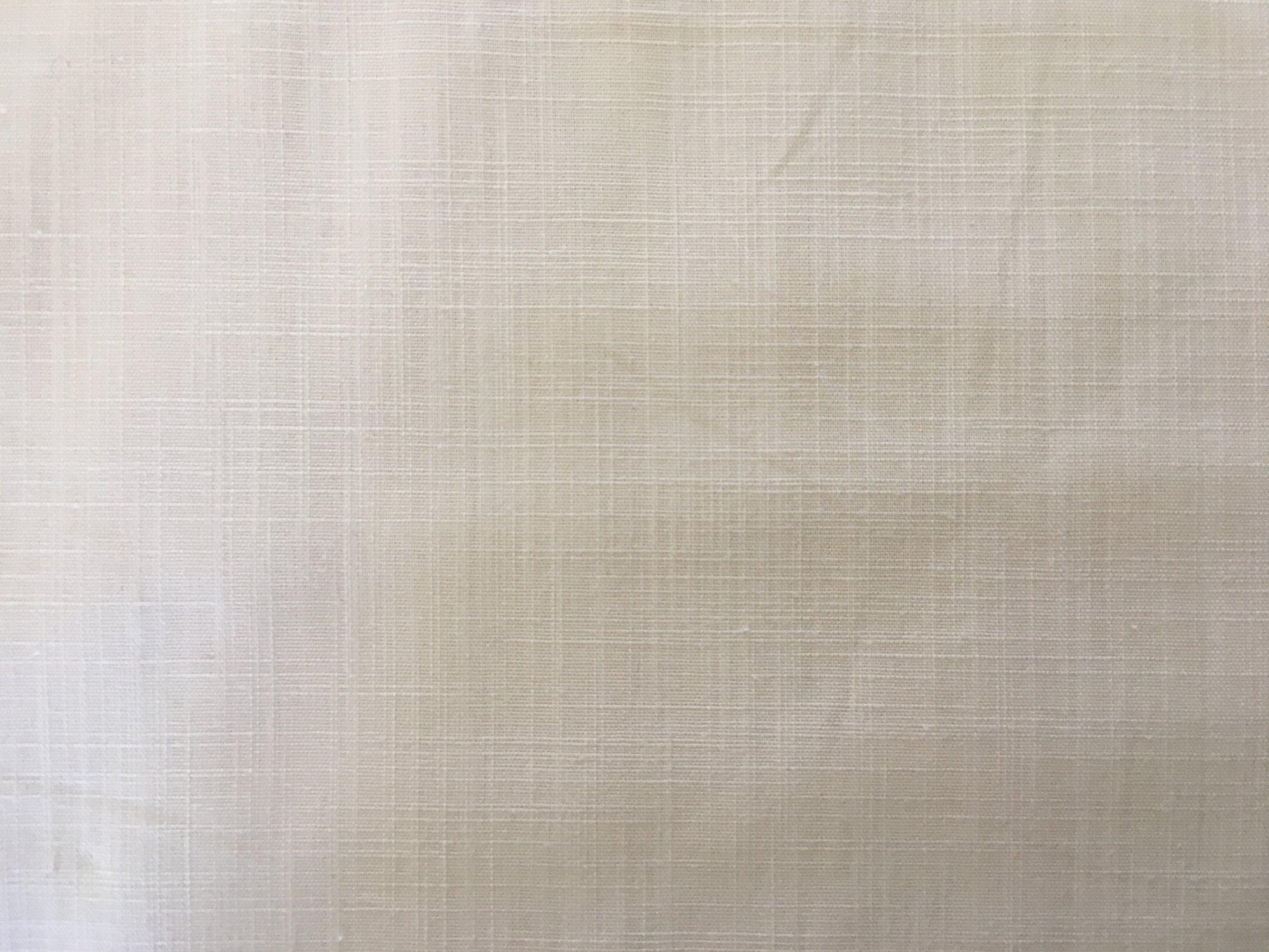 Linen-Look Textured Cotton Cream by P&B Textiles