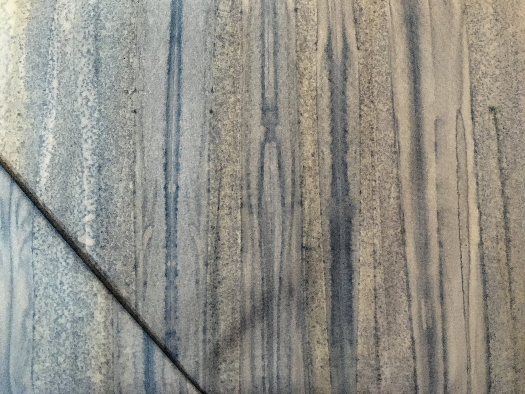 BATIK BLUE/GREY STRIPE 72FND003 Fabrics That Care