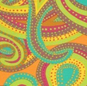 Dancing Paisely BM22 Pastel