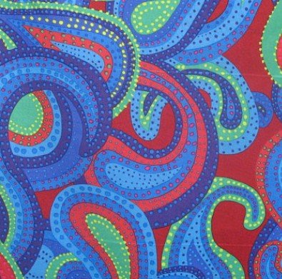 Dancing Paisley PWBM022 Regal