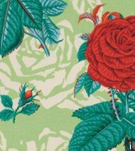 Botanical Roses PWSL001 Green