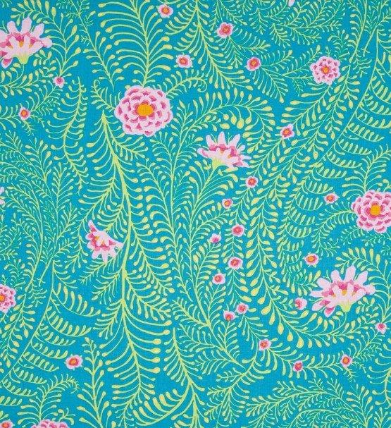 Ferns PWGP147 Turquoise