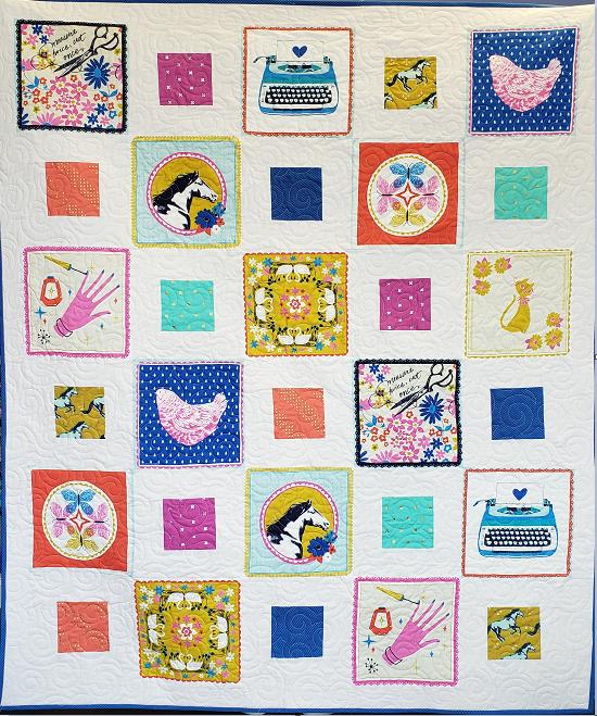Cotton + Steel Handkerchief Quilt Kit