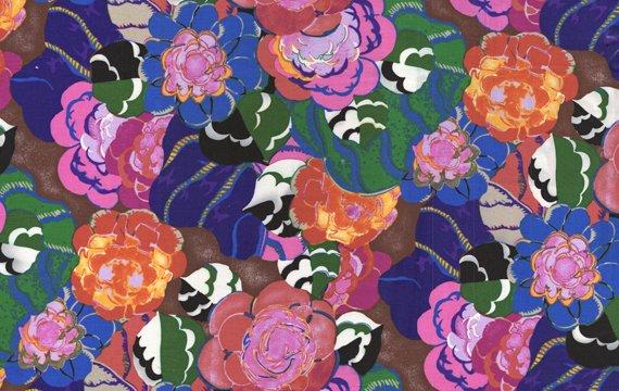 Benedictus Floral Fushia