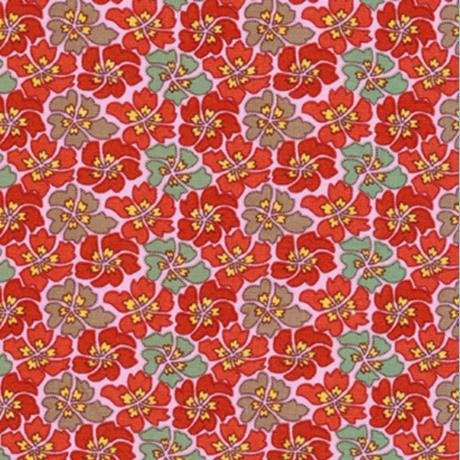 Mosaic Flower-Red