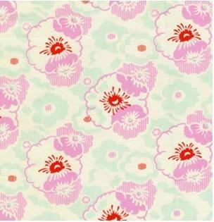 Nicey Jane Wash Day Ticking-Pink