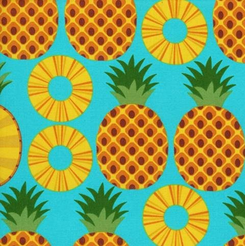 Pineapple-Turquoise