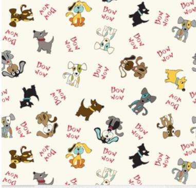 Puppy Park Dogs-Cream