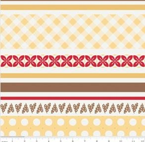 Sew Cherry Sew Stripes-Yellow