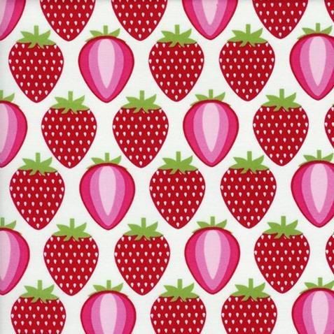 Strawberries-White