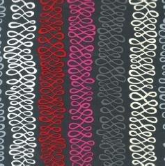 Swirls Stripe-Grey