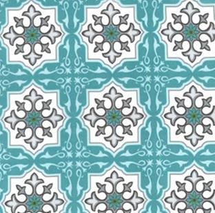 Temle Tiles-Ocean