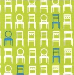 Tufted Tweet Dining Chair-Grass