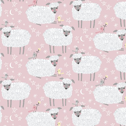 Baby Buddies Sheep Pink