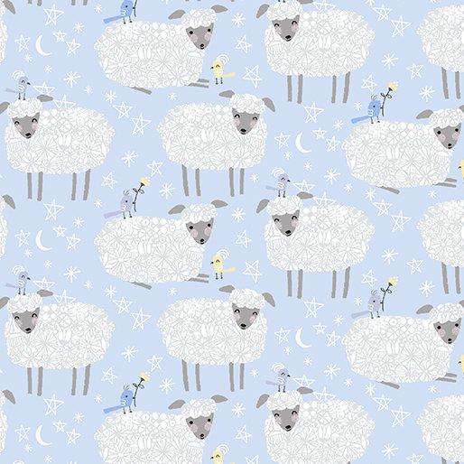 Baby Buddies Sheep Blue
