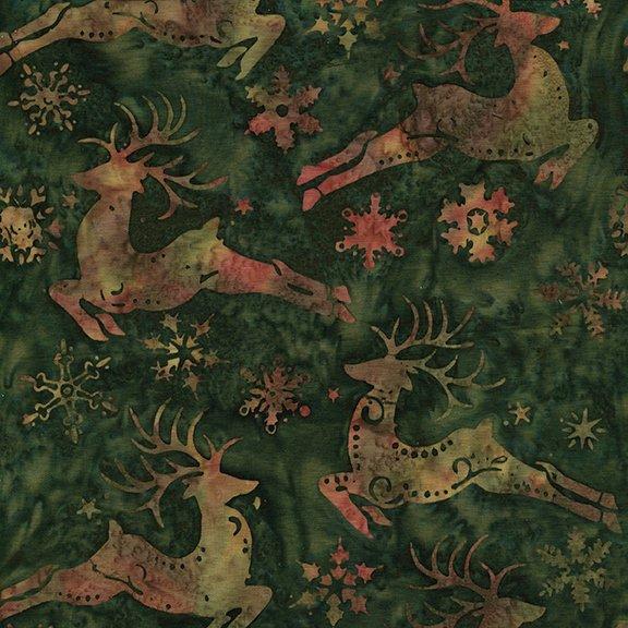 Deer/Snowflakes Med Christmas