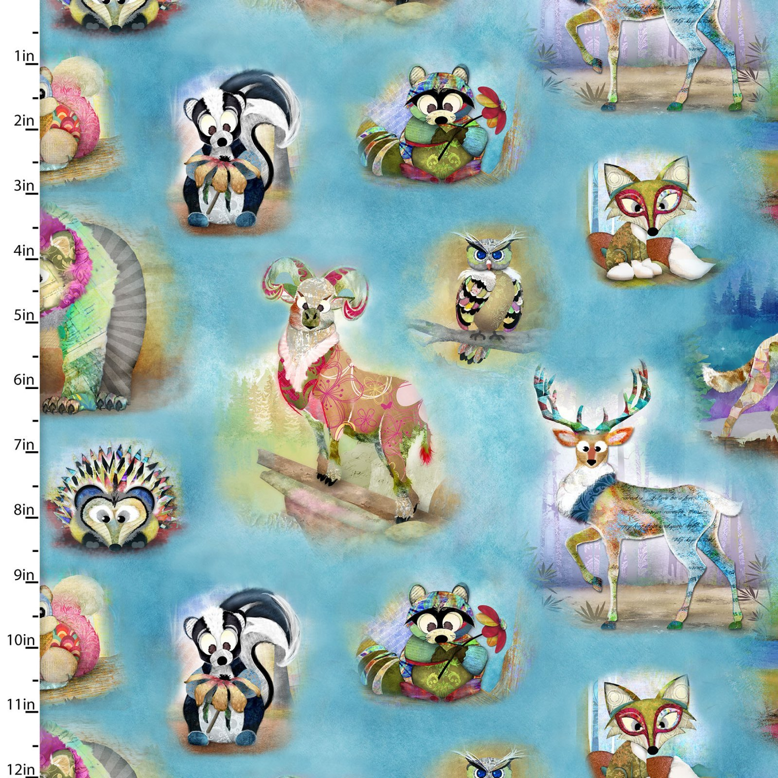 Wild & Whimsy Animals Multi