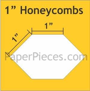 1 Honeycomb Acrylic Fabric Cutting Template