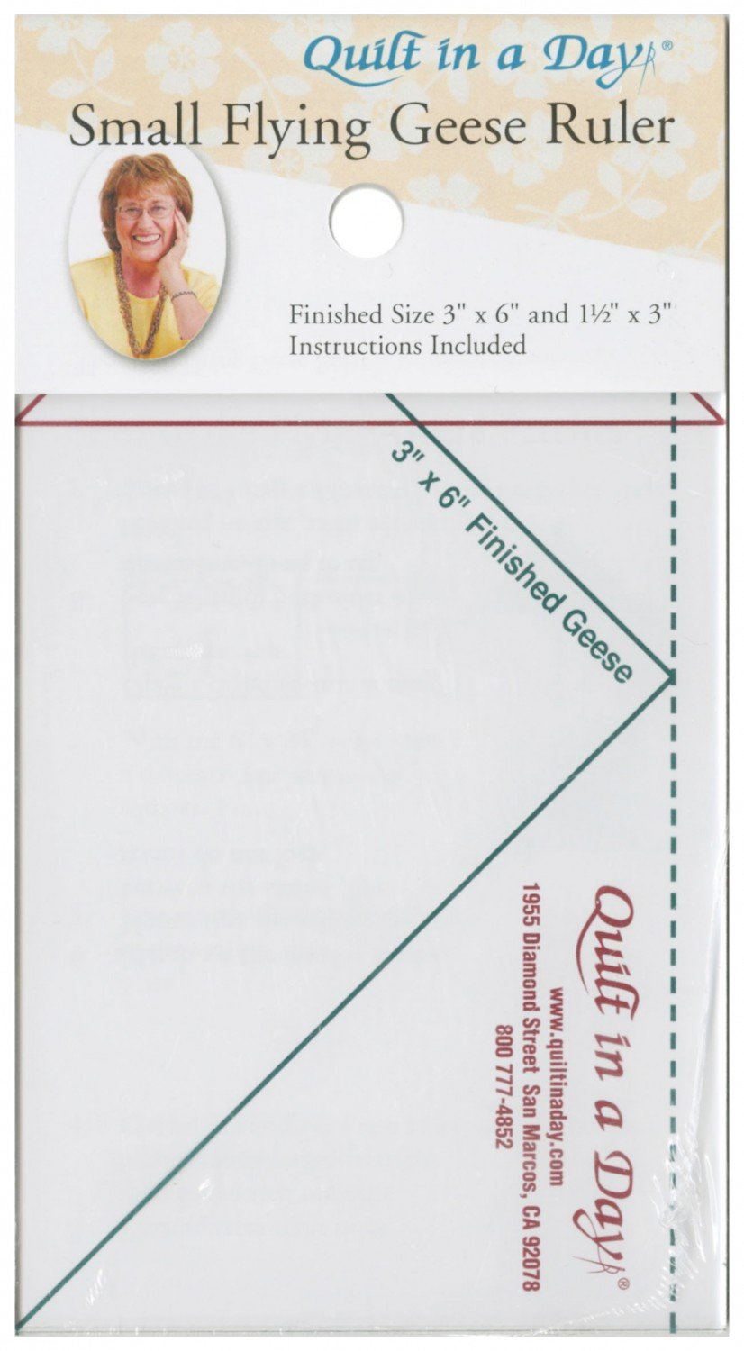 Small Flying Geese Ruler 3 1/2 x 6 1/2