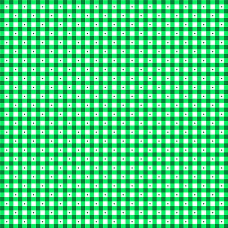 Gingham Mini Green