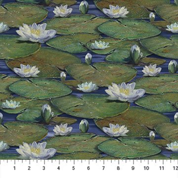 The Great Blue Water Lilies