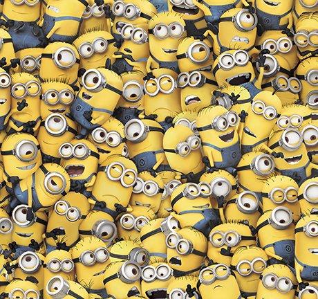 Millions of Minions Yellow 24964 S