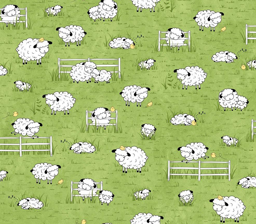 Sheeps & Peeps Green 25750 H