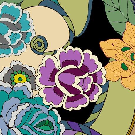 Echo Pucci Geo & Floral Multi